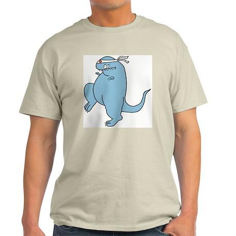 Kung Fu Todd Ash Grey T-Shirt