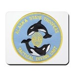 Alaska Police Dive Unit Mousepad