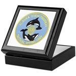 Alaska Police Dive Unit Keepsake Box