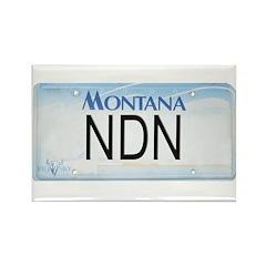 Montana NDN Pride Rectangle Magnet