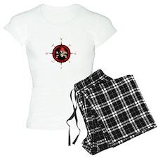 Pirate Compass Rose Pajamas