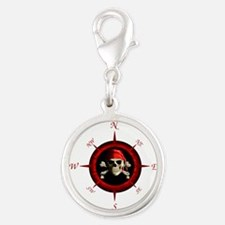 Pirate Compass Rose Charms