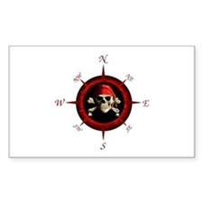Pirate Compass Rose Decal