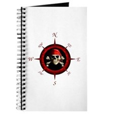 Pirate Compass Rose Journal