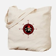 Pirate Compass Rose Tote Bag