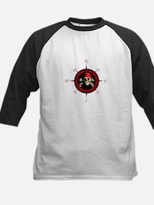 Pirate Compass Rose Baseball Jersey
