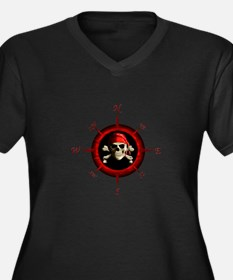 Pirate Compass Rose Plus Size T-Shirt