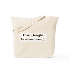 One Beagle Tote Bag