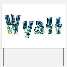 Wyatt Under Sea Yard Sign
