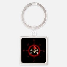 Pirate Compass Rose Keychains