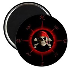 Pirate Compass Rose Magnet