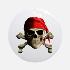 Jolly Roger Ornament (Round)