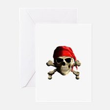 Jolly Roger Greeting Cards (Pk of 20)