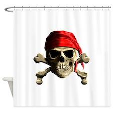 Jolly Roger Shower Curtain