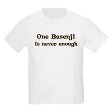 One Basenji Kids T-Shirt