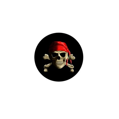 Jolly Roger Mini Button (10 pack)