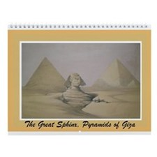 Khemetic Monuments Wall Calendar