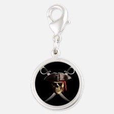 Pirate Skull And Swords Charms
