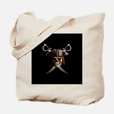Pirate Skull And Swords Tote Bag