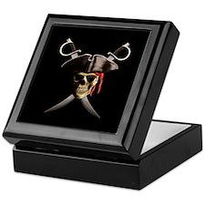 Pirate Skull And Swords Keepsake Box