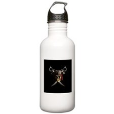 Pirate Skull And Swords Water Bottle
