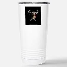 Pirate Skull And Swords Travel Mug