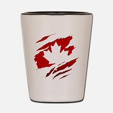Unique Maple leaf Shot Glass