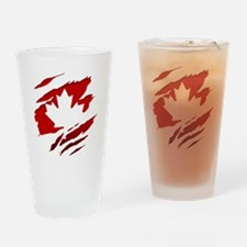Unique Canadian military Drinking Glass