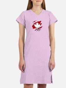 Cute Canada Women's Nightshirt