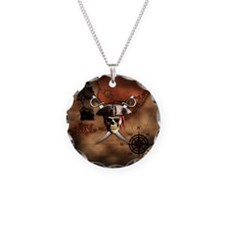 Pirate Map Necklace