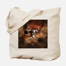 Pirate Map Tote Bag