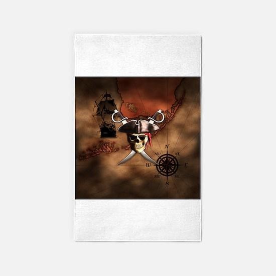 Pirate Treasure Map Rug: Pirate Rugs, Pirate Area Rugs