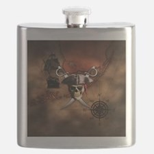 Pirate Map Flask