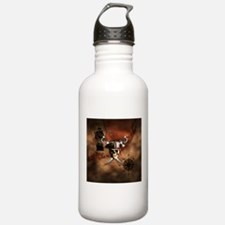 Pirate Map Water Bottle