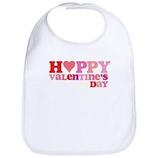 Retro Happy Valentine's Bib