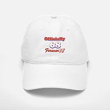 Funny 68 year old birthday designs Baseball Baseball Cap
