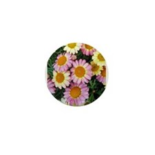Spring Daisies Blooming Mini Button
