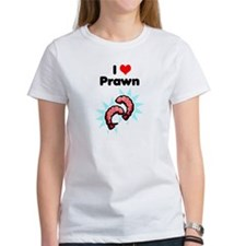 I Heart Prawn Tee