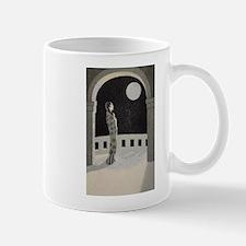 Japan, Woman, Moon, Vintage Poster Mug