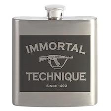 Immortal Technique Black Flask