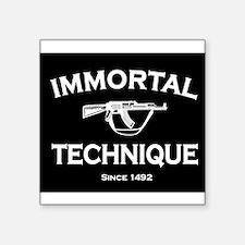 Immortal Technique Black Sticker