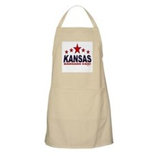 Kansas Kansans Can Apron