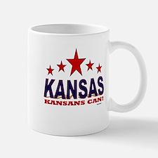 Kansas Kansans Can Mug