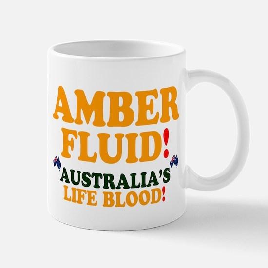 AMBER FLUID - AUSTRALIAS LIFE BLOOD! Small Mug