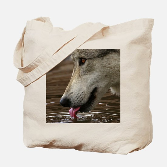 Thirsty, But Watchful Tote Bag