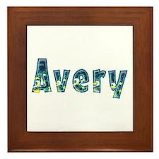 Avery Under Sea Framed Tile