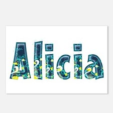 Alicia Under Sea Postcards 8 Pack