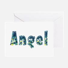 Angel Under Sea Greeting Card