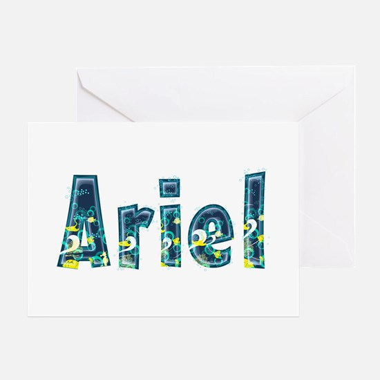 Ariel Under Sea Greeting Card
