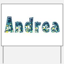 Andrea Under Sea Yard Sign